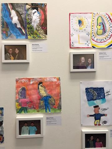 Faces of Mentoring Art Exhibition Launches