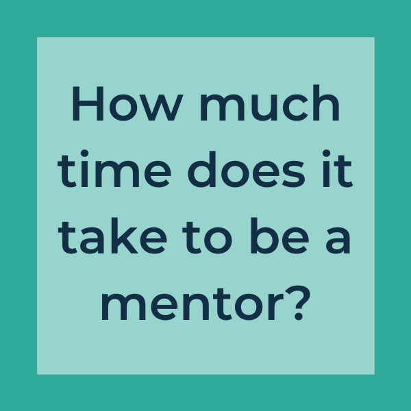 how much time does it take to be a mentor?
