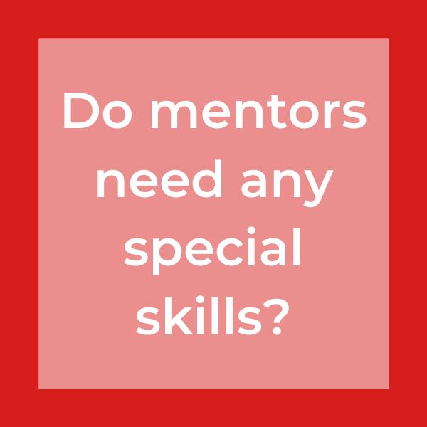 do mentors need any special skills
