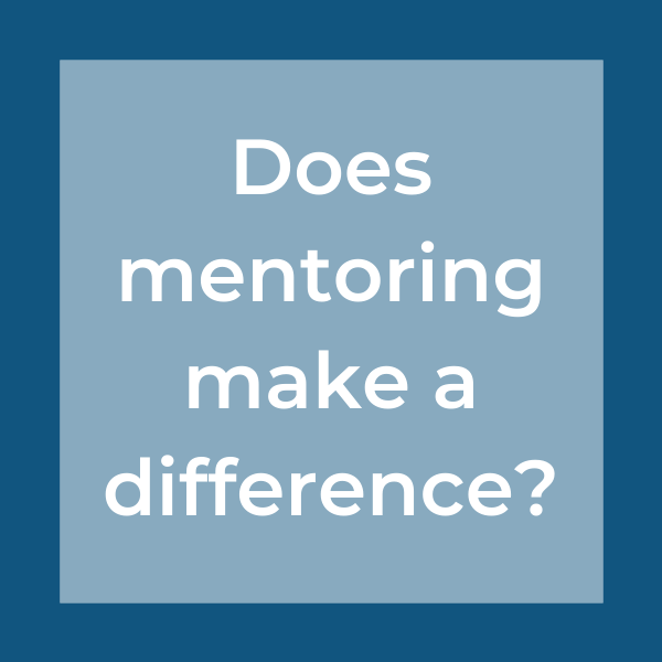 does mentoring make a difference