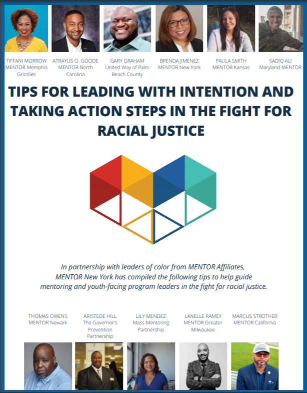 tips for leading in the fight for racial justice