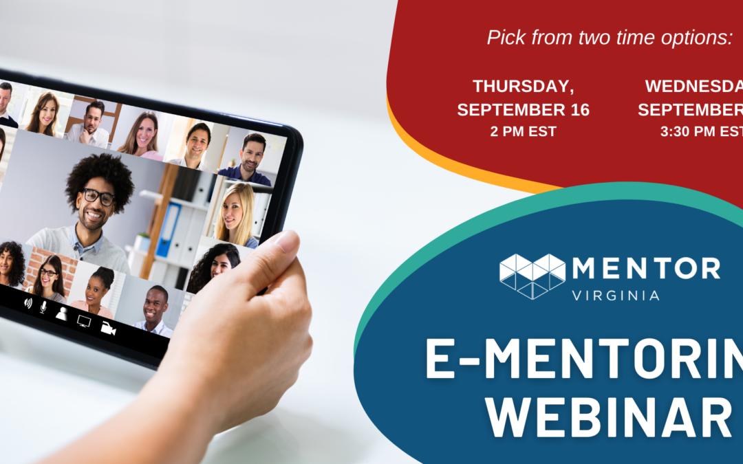 E-Mentoring Webinar