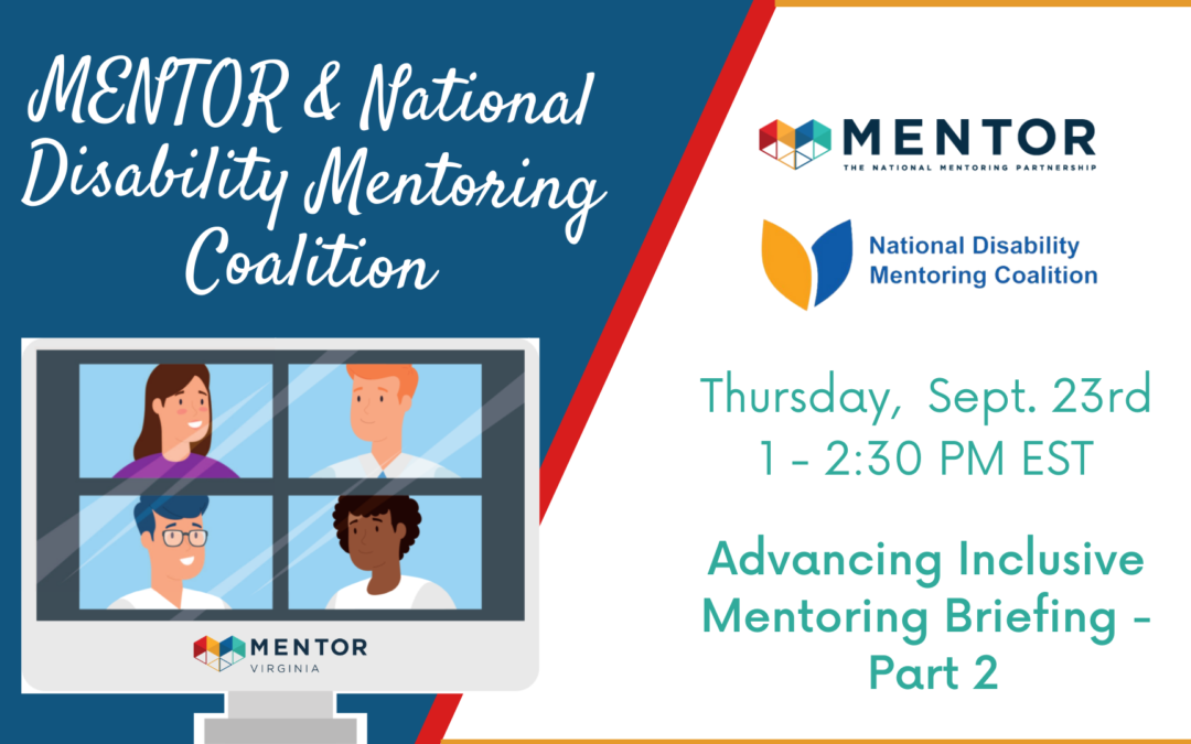 Advancing Inclusive Mentoring Briefing – Part 2